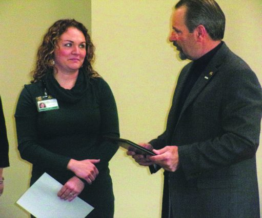 Julia McDonald Yuhasz '99 Honored for Work with Veterans
