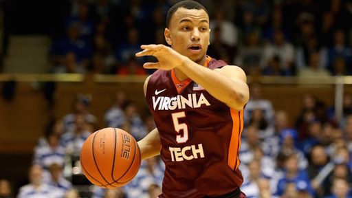Justin Robinson '15 Leads Hokies in Upset Win Over Virginia