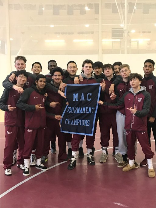 SJS Wrestling Wins Mid-Atlantic Conference Tournament