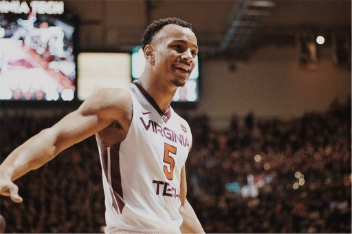 Justin Robinson '15 Earns All-ACC Second Team Honors at Virginia Tech