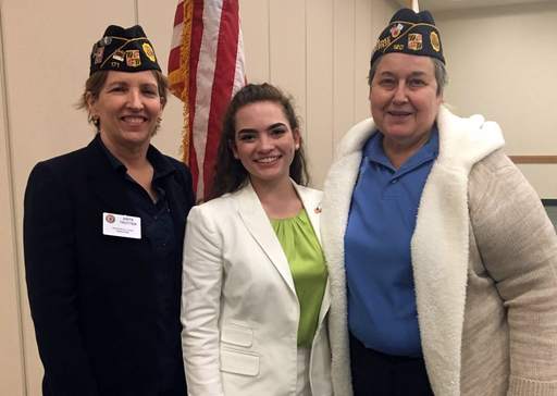 Roula Hammer '19 Advances to National Finals of the American Legion Oratorical Contest