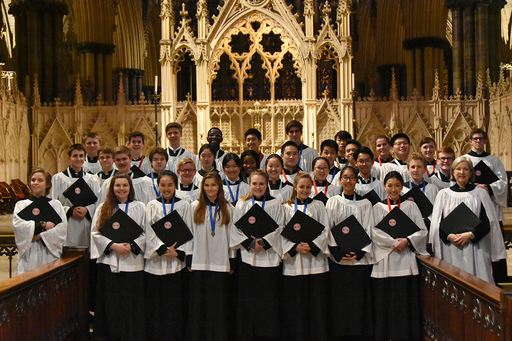 SJS Chapel Choir Tours England Over Spring Break
