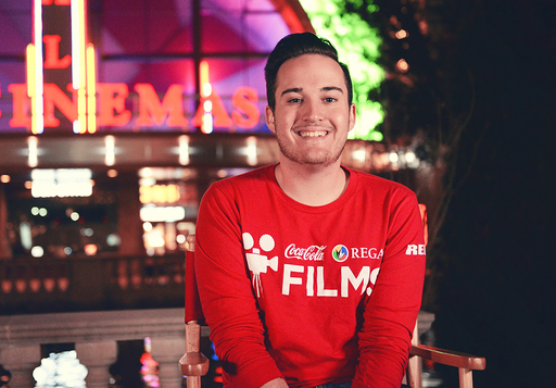 Hunter Strauch '14 Places Third in Coca-Cola Regal Films Competition