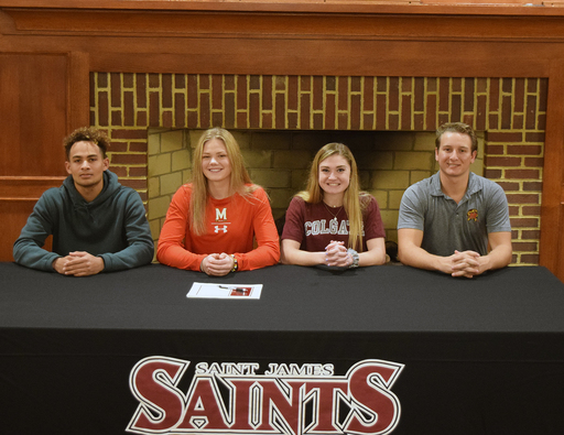 Four SJS Student-Athletes Commit to Play at NCAA Division I Universities