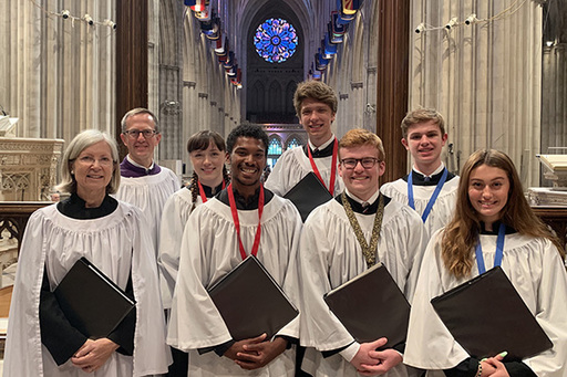SJS Choristers Take Part in Royal School of Church Music Choir Training Course