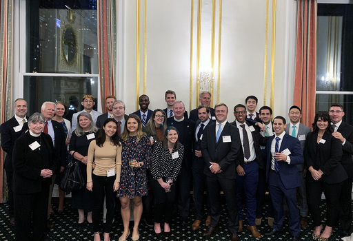 SJS Hosts Alumni Reception in New York City
