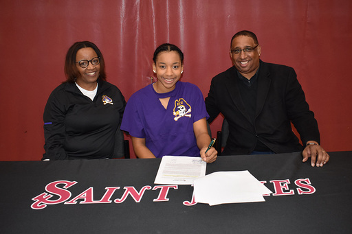 Morgan Moseley Signs National Letter of Intent to Play Basketball at ECU