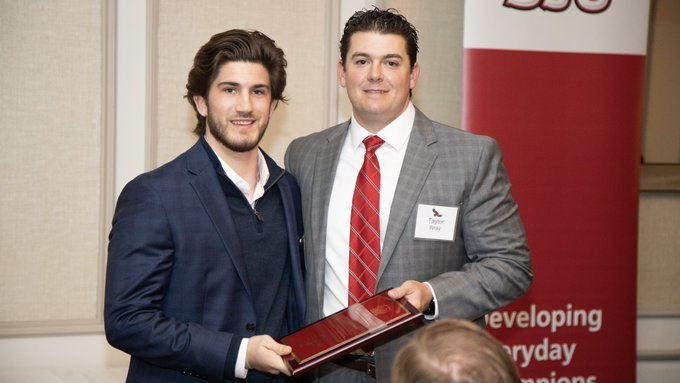 Tucker Almany '17 Receives 2019 Dorie Leahy Award at Saint Joseph's University