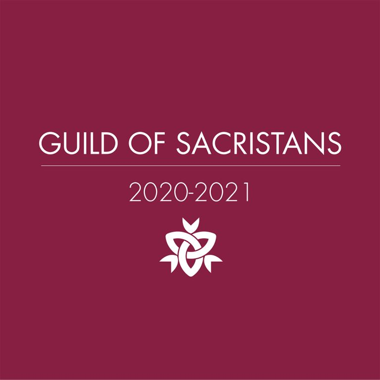 Guild of Sacristans Announced for 2020-2021