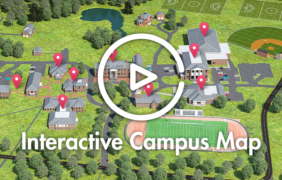 Interactive campus map of Saint James School