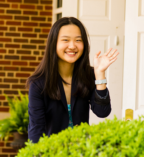 Meet Shirley Mao '18