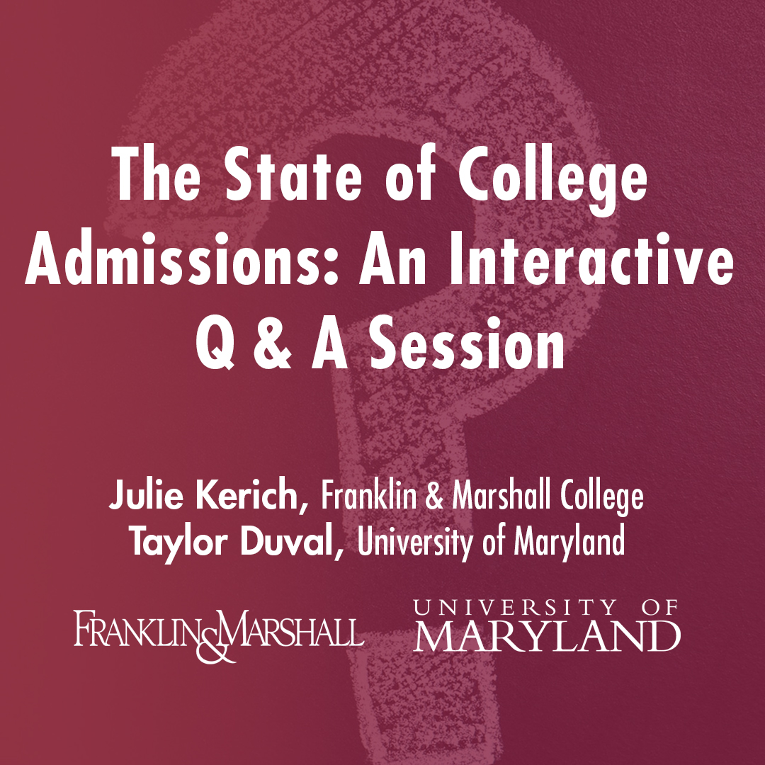 Saint James School College Admissions Series: Q & A Session