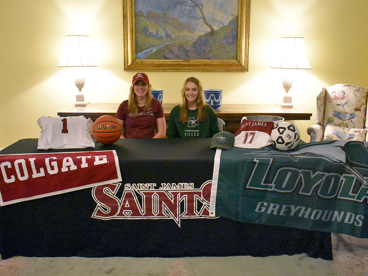 Two Saints Sign National Letters of Intent