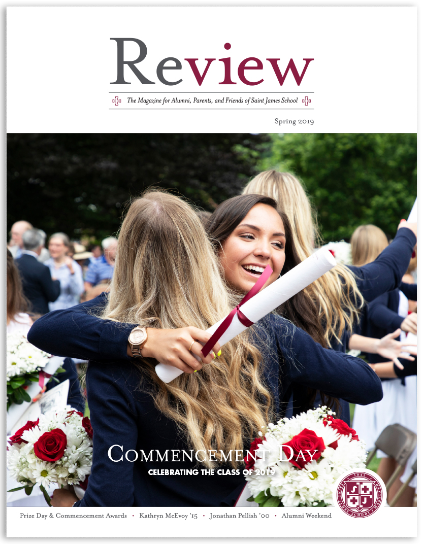 2019 Spring Review - Magazine for Saint James School