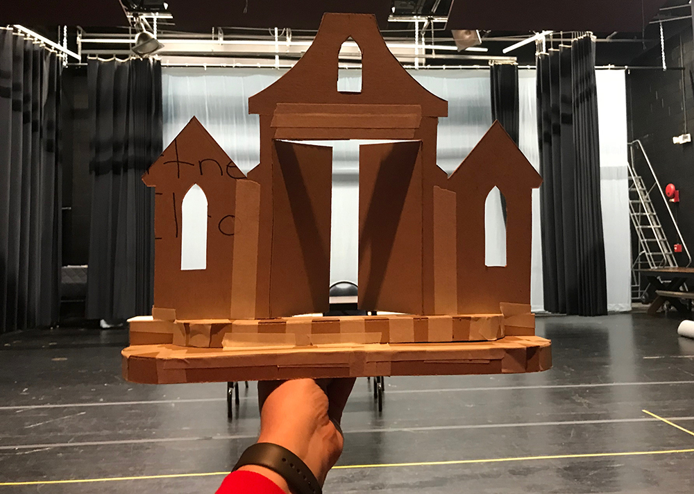 Building 'The Addams Family'