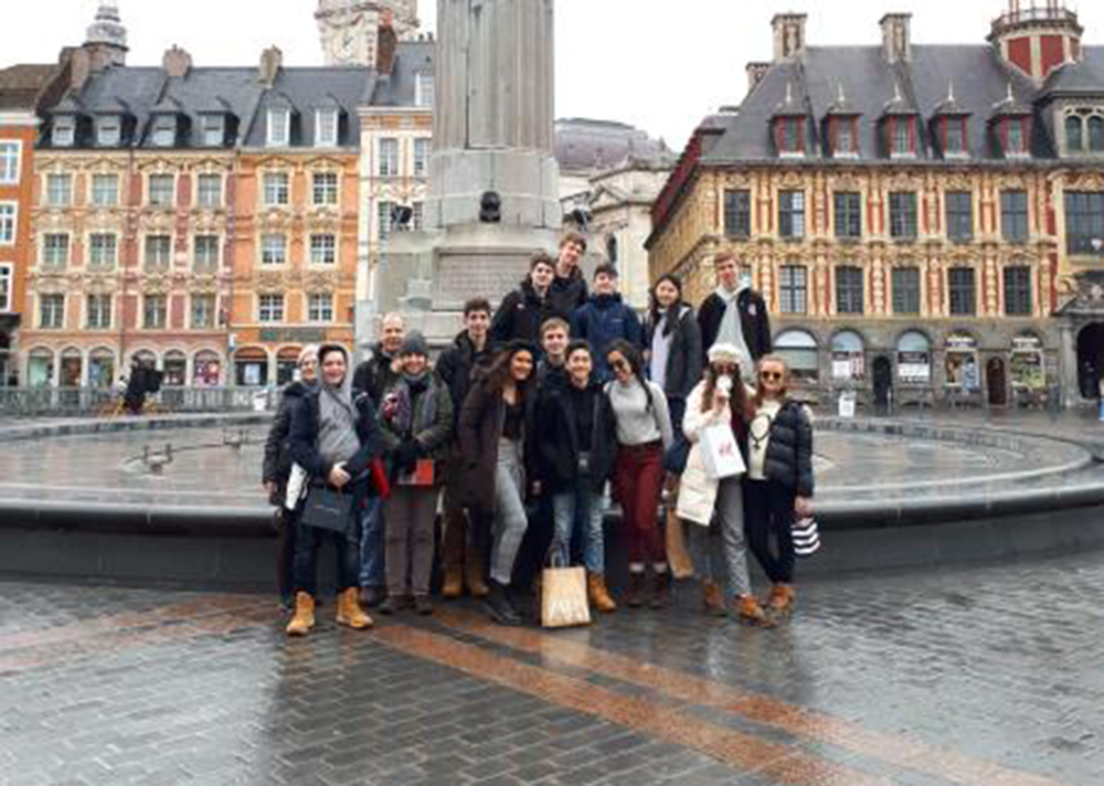 Students Explore History of World War I During Spring Break Trip to Europe